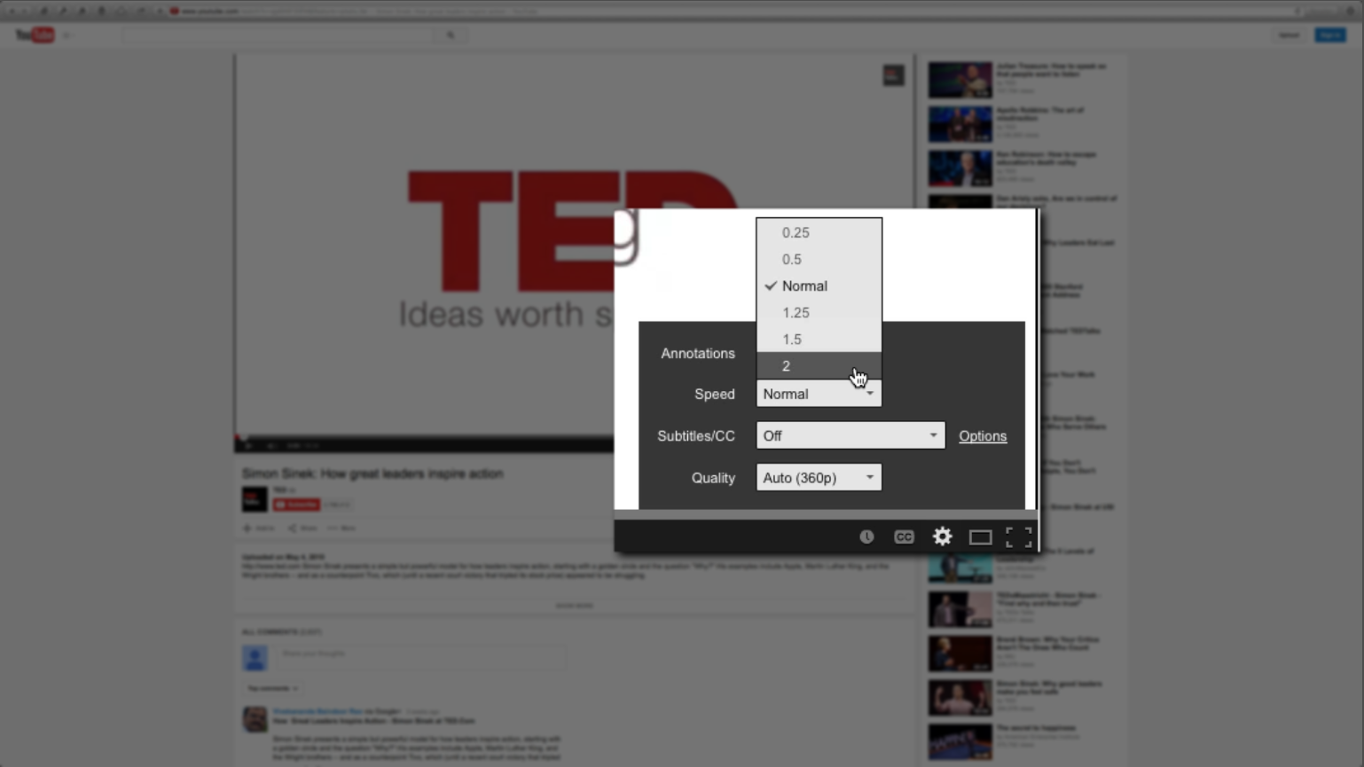How to watch youtube videos at double the speed image of how to watch youtube videos faster or at double the speed 2x ccuart Gallery