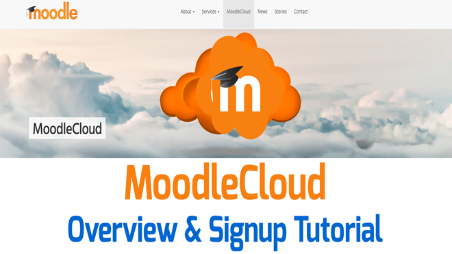 image of Moodle Cloud Video Tutorial
